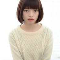 ストレートバングナチュラルボブ【vicca萩原】