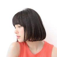 流し前髪ダークグレージュボブ【vicca萩原】