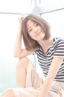 Vicca 萩原 ☆エフォートレスボブ×インナーカラー☆