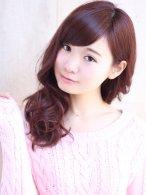 [angel.gaff 原宿]strawberry spring color2「紺野」
