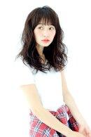 GARDEN】羽田 ひろむ パーマあり シースルーカジュアルパーマスタイル 2015 トレンドヘア