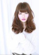 release SEMBA『プラチナベージュ☆ミックスカールロング』
