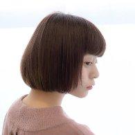 眉ライン前髪ショートボブ【vicca萩原】