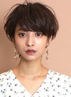 ワンカールパーマ☆大人可愛いショートヘア