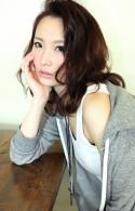 2014春トレンド☆カジュアルなセクシーセミディヘアー