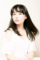 【Hair Orang】ワイドバング ブラック ロング