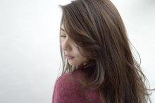 グレージュ×キレイ髪レディロング【vicca萩原】