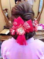 レトロ編み込みヘア